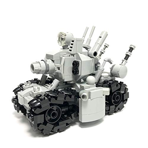 24110 Super Vehicle 001 Metal Slug Tank Action Figure Car Toy Building Kit,BuildingBoat MOC Model(356 PCS)