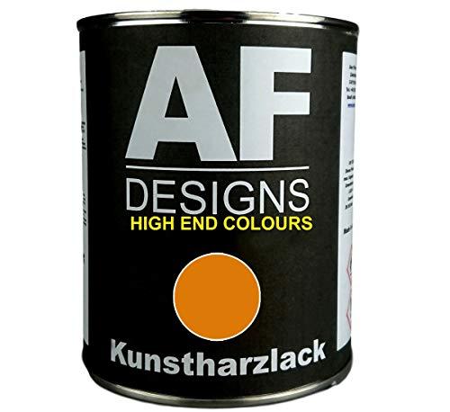 Alex Flittner Designs 1 Liter Kunstharzlack für BOSCHUNG ORANGE BIS 1980 Maschinen LKW NFZ Lack Baumaschinen
