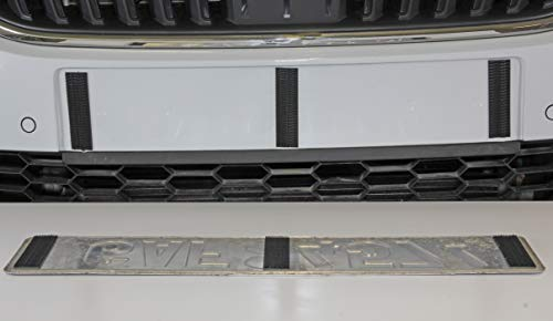 3M 250H Dual Lock License Plate Holder Set with Automotive Double-Sided Adhesive Tape 6008F