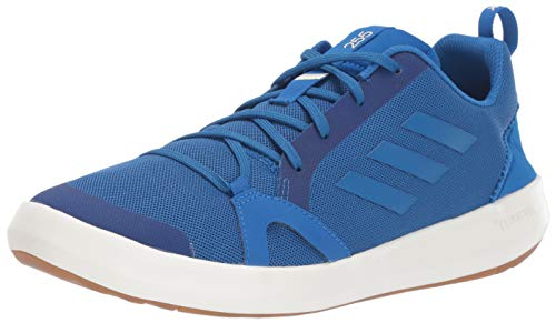 adidas Outdoor Men's Terrex Summer.RDY Boat Water Shoe, Blue Beauty/Chalk White, 9.5 M US