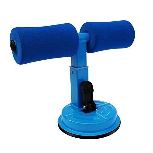 Domybest Sit Up Hilfe Bar Training Muskulatur Bein Fitness Gerät für Rücken und Bauchmuskeln, Fitnessgerät, Herren, blau