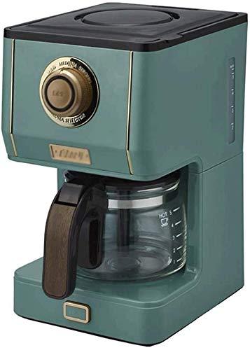Koffiezetapparaat, Anti-Drip Ontwerp, Afneembare Filter en Hot Plate, warm houden Retro thuis elektrische Drip Koffiepot Brewing vaatwasser tabbladen jilisay