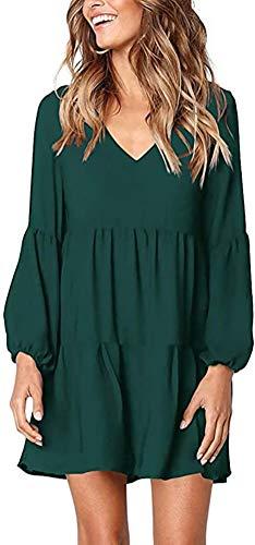 Chvity Women's Beach Party Dress Swimsuit Cover up Swimwear, Green, XL