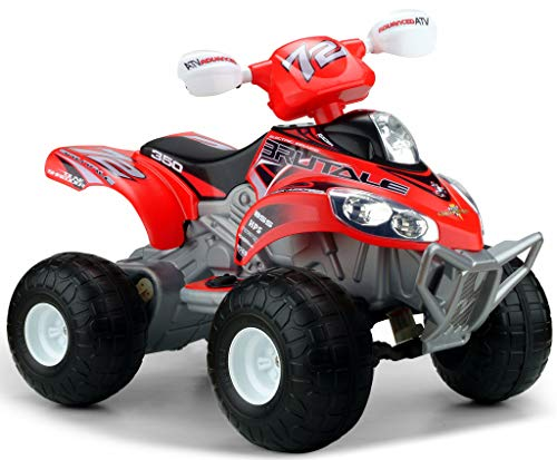 FEBER Famosa 800003077 Quad Brutale - Elektrofahrzeuge für Kinder von 3 bis 7 Jahre