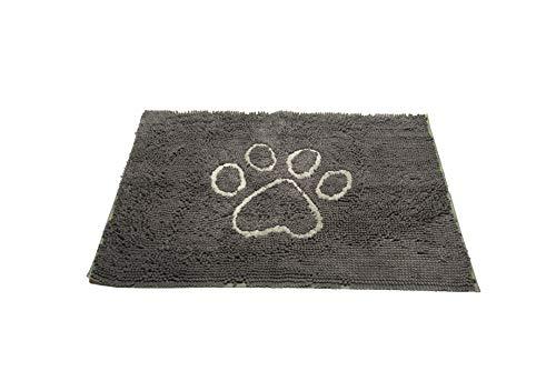 Hond Gone Slimme Vuil Hond Deurmat, Groot, Misty Grijs