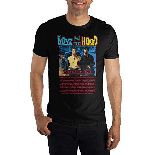 Boyz in The Hood Short Sleeve T-Shirt-M Black