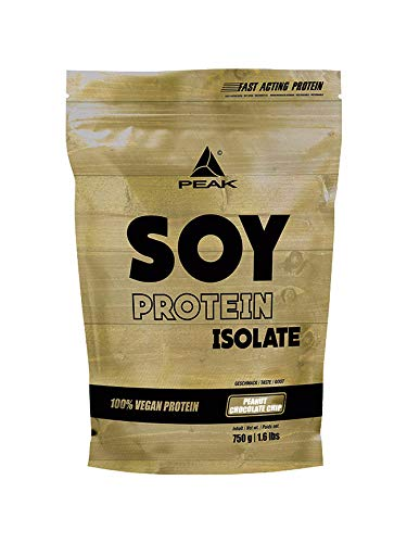 PEAK Soy Protein Isolate Peanut Chocolate Chip 750g | NEW DESIGN