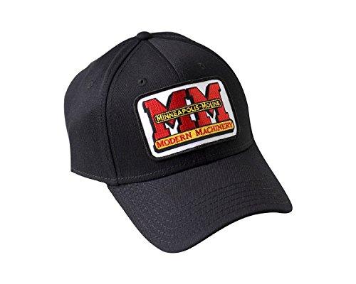 Minneapolis Moline Logo Hat, Black, Flexible Fit (S/M)