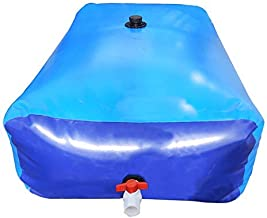 XBSXP Réservoir de Stockage d'eau de Jardin Seau de Stockage d'eau Pliable Souple Sac d'eau, Seau de Stockage d'outils de ...