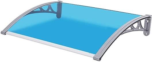 75 * 125 cm, Braun 2,5 mm Vollpappe Wefun Vordach Haust/ür,Vordach T/ürdach /Überdachung Haust/ürvordach Pultbogenvordach Vordach Pultvordach