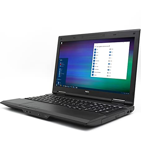 Notebook NEC Versapro VK20EX-J i5 fino a 3.3GHz SSD Seriale RS232 Express Card Windows 10 Pro PC Computer Portatile Aziendale Business Laptop Ufficio Smartworking (Ricondizionato) (8GB RAM SSD 240GB)