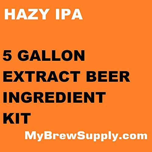 Hazy IPA 5 gal Homebrew Beer Extract Kit - My Brew Supply