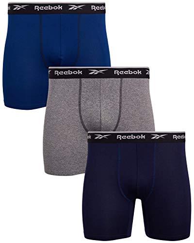Reebok Herren Sport Soft Performance Boxershorts (3er Pack) - mehrfarbig - X-Large