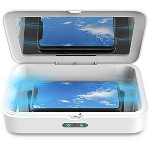 immagine di Sterilizzatore UV per Cellulare, SunFea Non-Mercurio Sterizzatore 1 Pro LED UV Scatola con Funzione Aromaterapia, Disinfezione Professionale per Cellulari, Vestiti, Estetica