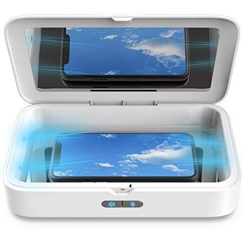 Sterilizzatore UV per Cellulare, SunFea Non-Mercurio Sterizzatore 1 Pro LED UV Scatola con Funzione Aromaterapia, Disinfezione Professionale per Cellulari, Vestiti, Estetica