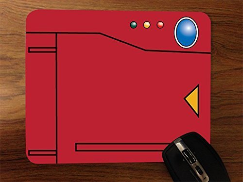 Pokedex Desktop Mouse Pad