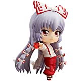 zhaotuoqp Movable Nendoroid Fujiwara no Mokou Figure, The Figure is from The Animation Touhou Project, is 3.9 inches high, Figure Made of PVC Material, Including Base and Accessories