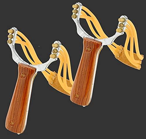 Centrifuga in acciaio inox con elastici in gomma, catapulto, per caccia, caccia all aperto, competizione di pollame, pesca e allenamento di animali domestici