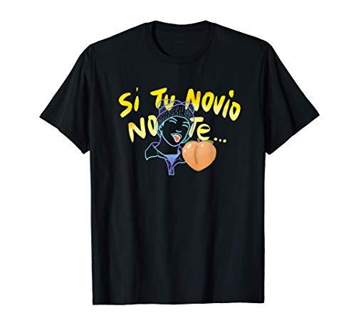 Si Tu Novio No Te bunny el emoji - Trap Perreo Doodle Camiseta