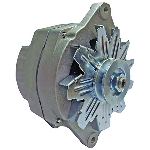 New Alternator 12 Volt 27SI 100 AMP Replacement For Military GM Chevy Blazer CUCV Isolated Ground 10459234, 1105500, 321-744, 90-01-4277, 7847