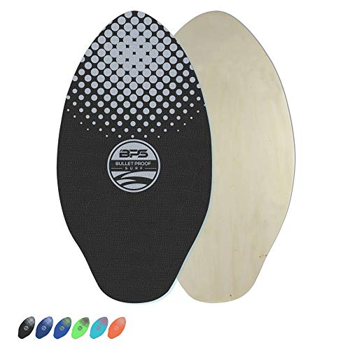 BPS 'Gator' 30 Inch Skimboard - Epoxy Coated Wood Skimboard with EVA Pads - No Need for Wax -...