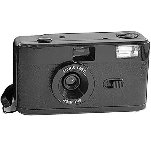 35 mm filmcamera met flits, niet-wegwerp herbruikbare handmatige optische dwaascamera, retro-filmcamera voor dwazen…