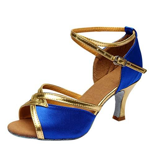 Zapatos Latino Baile Tacón Bajo Mujer Invierno Primavera