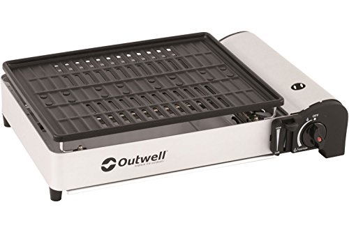 Outwell Crest Gas Grill, Silber
