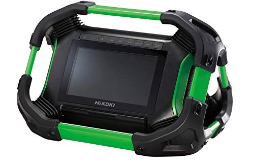 HiKOKI(ハイコーキ) 旧日立工機 18V 14.4V コードレスラジオ付テレビ 充電式 Bluetooth機能搭載 AC100V使用可 蓄電池、充電器別売り UR18DSML(NN)
