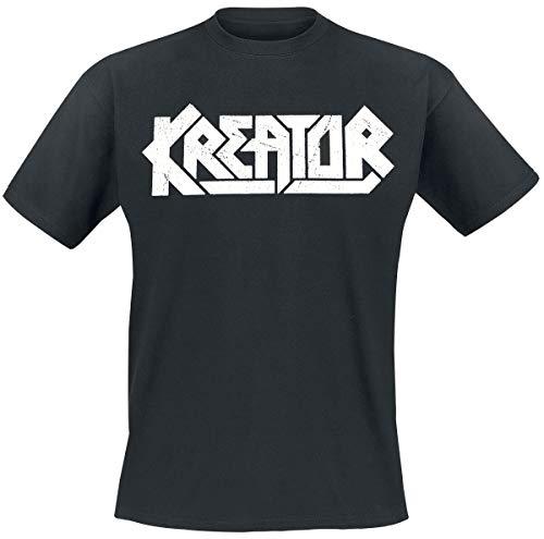 Kreator Satan is Real Männer T-Shirt schwarz M 100% Baumwolle Band-Merch, Bands