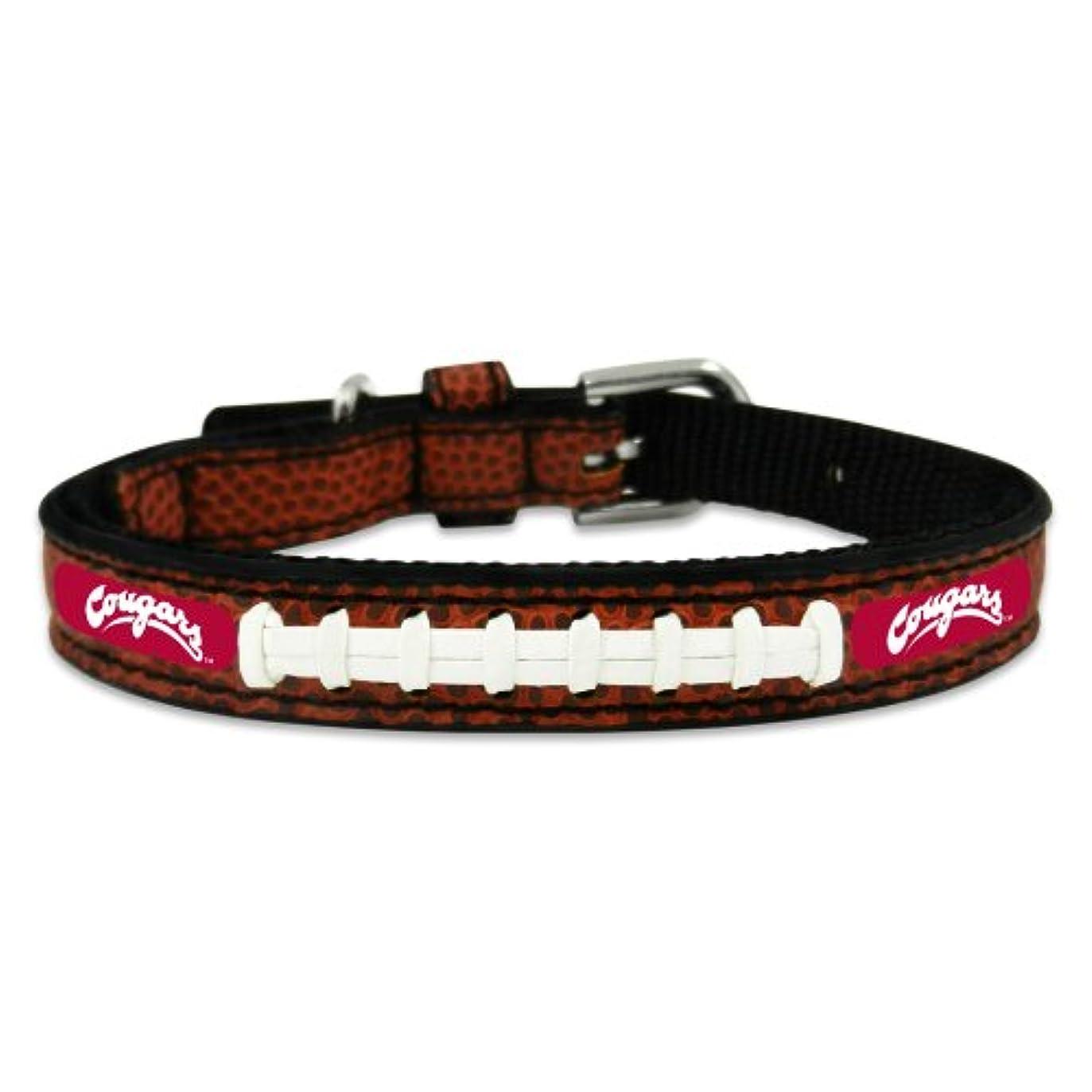 後世ミサイルホームWashington State Cougars Classic Leather Toy Football Collar