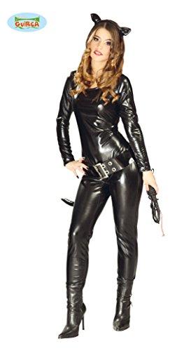 Guirca- Costume Catwoman, Colore Nero, 40-44 (M), 80751