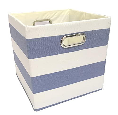 Bolsa de Almacenamiento portátil, Caja de Almacenamiento Plegable Ropa de Almacenamiento de Ropa para Juguetes Organizadores Cestas para la Oficina de viveros (Color : 8, Size : 30x30x30cm)