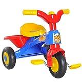 HOMCOM Triciclo a Pedali con 3 Ruote e Clacson per Bambini in Plastica PP 60 × 42 ×...