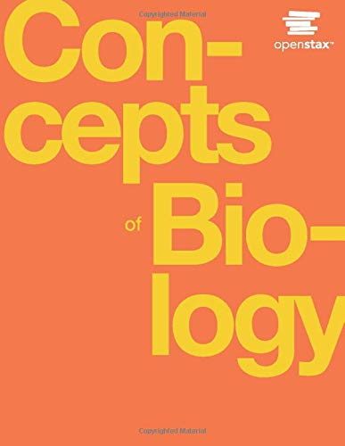 Concepts of Biology by OpenStax (hardcover version, full color)