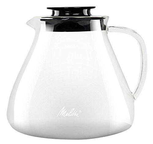 Melitta Kanne aus Borosilikatglas, Robust und Hitzebeständig, 1 Liter, 217632
