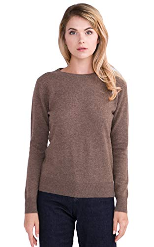 Pull col Rond 100% Cachemire pour Femme