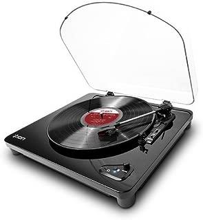 Ion Audio Belt Drive DJ Turntable Air LP | Bluetooth Enabled Thr
