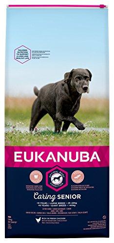Eukanuba - Nourriture pour Chien de Grande Taille (Senior)- Riche en Poulet Frais - Pour un Corps Optimal