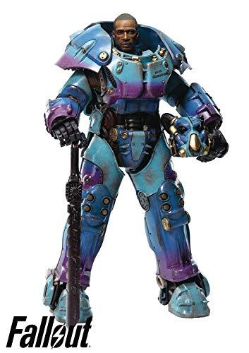 ThreeZero Fallout: X-01 Power Armor Quantum Variant 1: 6 Scale Collectible Figure, Multicolor