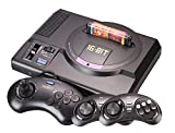 XFUNY. Retro Game Console, 16 Bit HD Game Console Support 4K HDMI AV Output with 2.4G Wireless Controller & 2 Wired Controller Compatible with All Sega MD Card Game for Family Entertainment