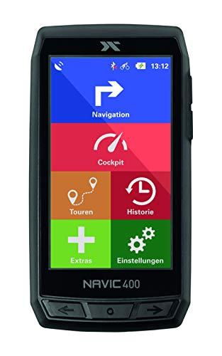 CICLO NAVIC 400 - Navigationsgerät zum Fahrradfahren und Wandern mit 4 Zoll farbigen Touch-Display