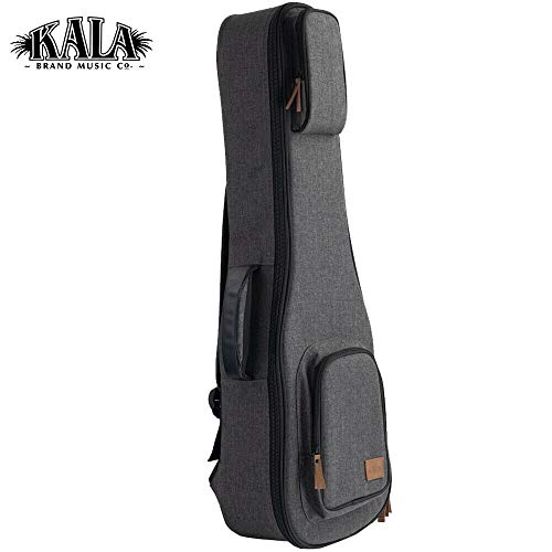 NEW Kala DC-B-CL Rock Gray Sonoma Coast Ukulele Baritone Case Backpack
