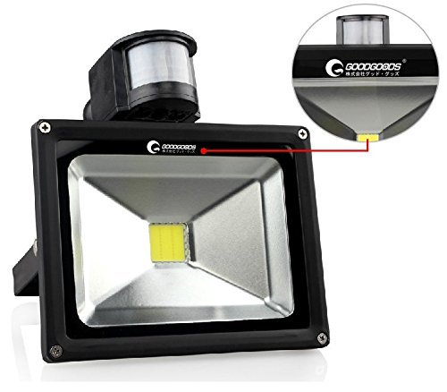 LED投光器 人間センサー付き GY20W
