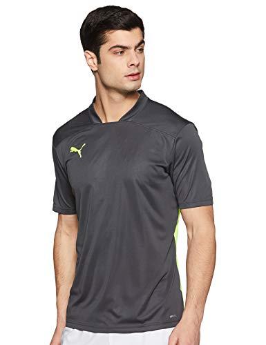 PUMA Ftblnxt Camisa, Hombre, Negro (Ebony/Yellow Alert), L