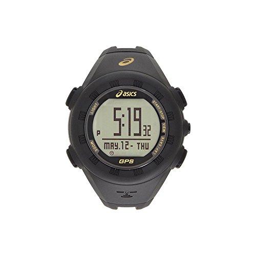 Asics Reloj GPS | Negro y Dorado