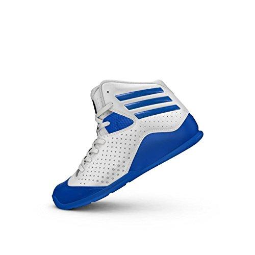adidas Jungen NXT LVL SPD IV K Basketballschuhe, Weiß Ftwbla Blau Ftwbla, 38 2/3 EU