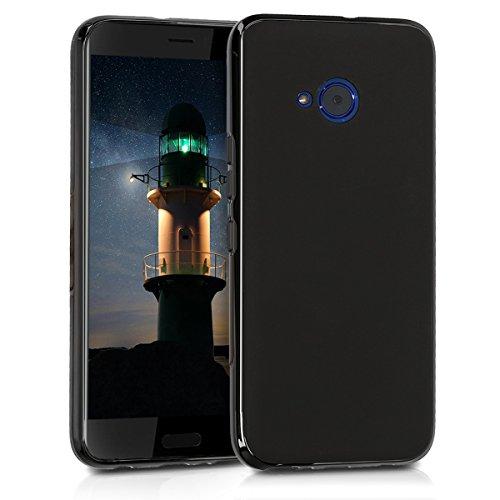 kwmobile Hülle kompatibel mit HTC U11 Life - Handyhülle - Handy Hülle in Schwarz matt