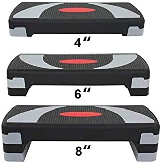 "HomGarden 31"" Adjustable Workout Aerobic Stepper in Fitness & Exercise Step.."