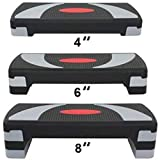 HomGarden 31' Adjustable Workout Aerobic Stepper in Fitness & Exercise Step...